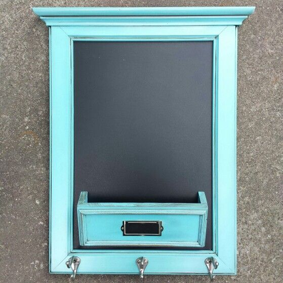 Entry Organizer Chalkboard Mail Cubby Coat And Key