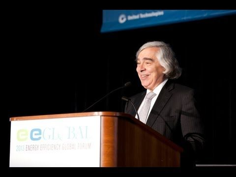 Secretary Moniz Speaks at the 2013 Energy Efficiency Global Forum
