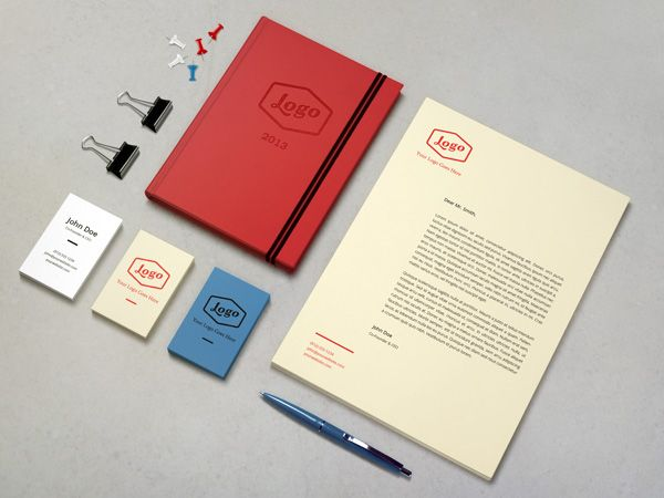 GMF: Free download Identity / Branding MockUp Vol.3