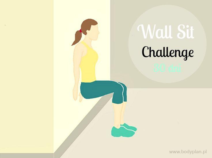 Wall sit challenge – czyli smukłe, silne uda oraz jędrne pośladki w 30 dni