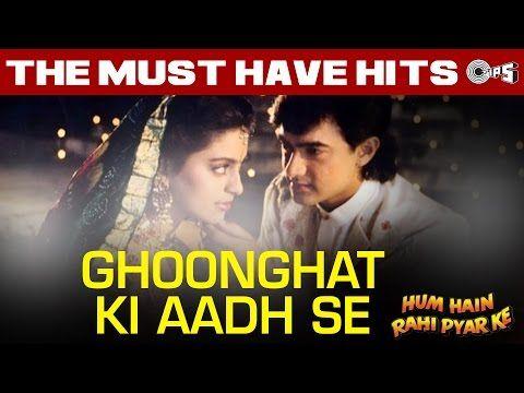 Ghoonghat Ki Aad Se Dilbar Ka Hum Hain Rahi Pyaar Ke Aamir Khan Juhi Chawla Nadeem Shravan