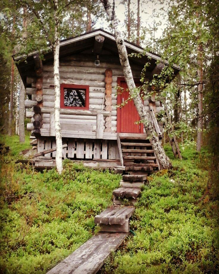 Kuusamo cottages sauna