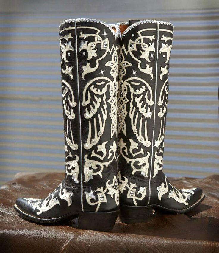 custom Chandelier boots. Rocketbuster.