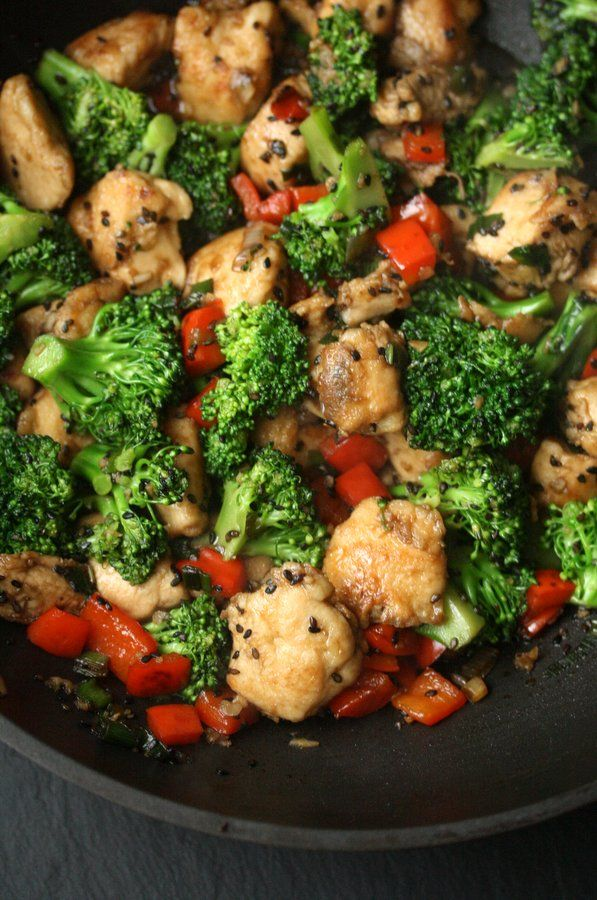 Gluten-Free Is Me: Healthy Sesame Chicken with Broccoli