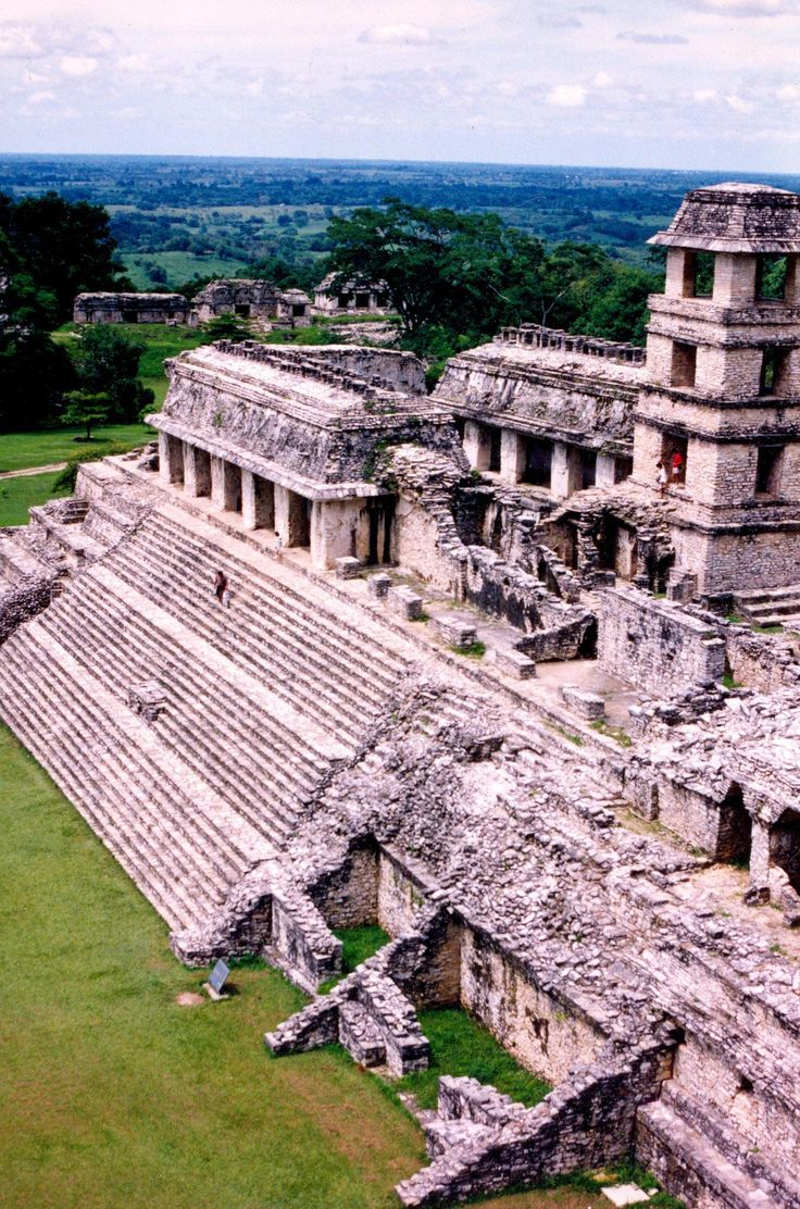 Palenque is a Classic Mayan ruin in the state of Chiapas, Mexico