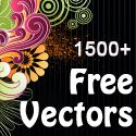 Awesome page with loads of free vectors