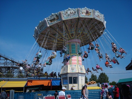 Playland at PNE — a Vancouver summer tradition!
