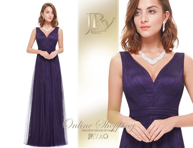 Rochie de seara Yva Purple