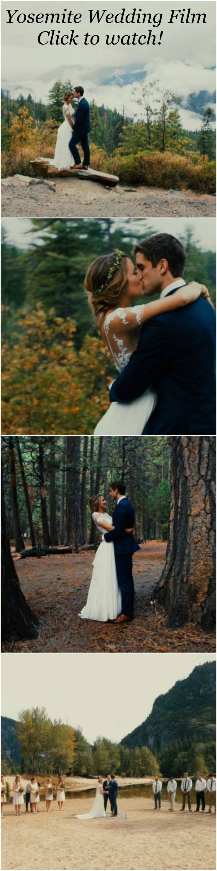 Yosemite Wedding Film. Christian Ceremony in the California mountains. See more films at filmstrong.com