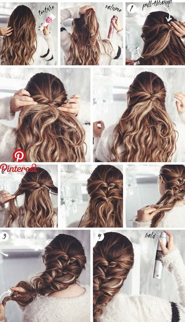 Easy Summer Hairstyles To Keep Your Time And Style Wewer Fashion Long Hair Styles Medium Hair Styles Easy Hairstyles