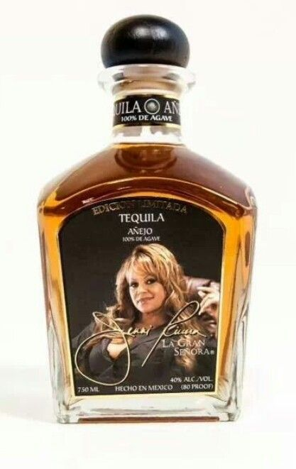 Jenni Rivera La Gran Señora Tequila is a refreshing tequila that blends well in mixed drinks and goes down smoothly when served over ice.