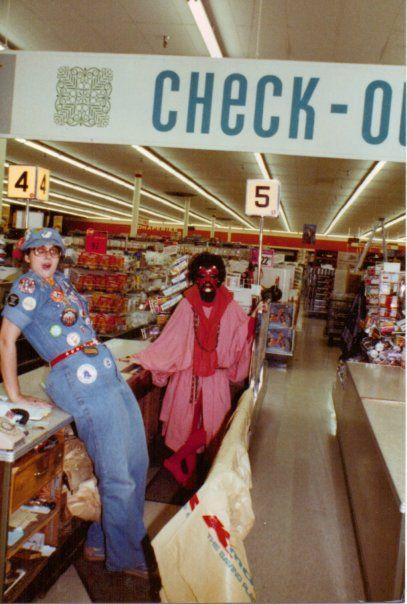 Kmart Halloween Muncie IN 1970's
