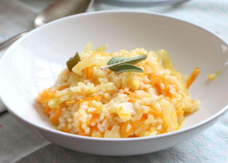 Leggero, semplice, profumato e ricco di vitamine! Il #risotto con le #carote del #Friuli è delicatissimo e squisito!