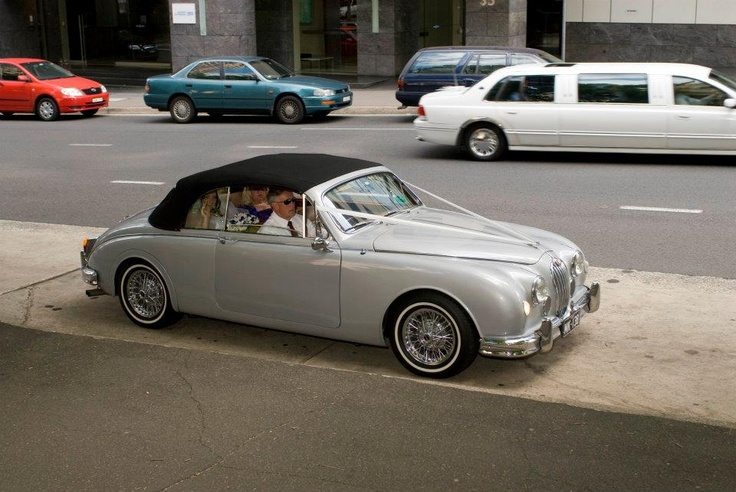 Bridal Car  Mark 1 Convertible Jaguar