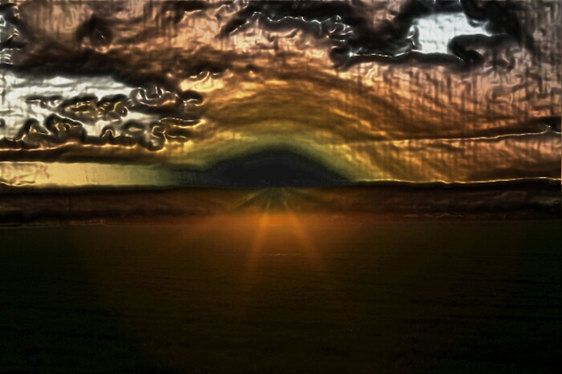 Bronzed sunset photography.  Abstract art wall - Made by Gia, from $30.00. https://www.facebook.com/madebygia
