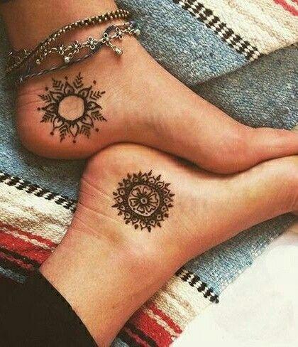 mandala henna tattooswww.mandala-stencils.com