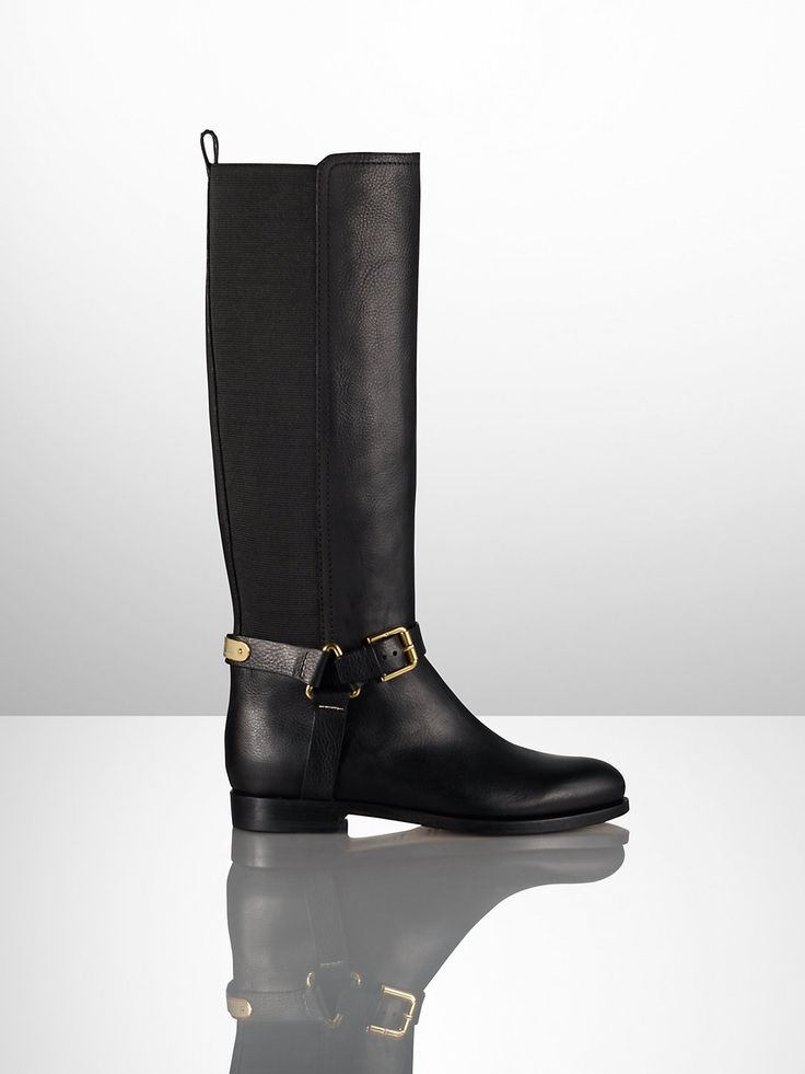 Sabeen Vachetta Riding Boot / Ralph Lauren Collection