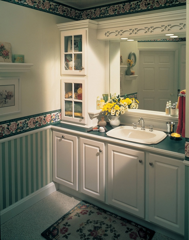 Beautiful Semi Custom Bathroom Vanity Cabinets