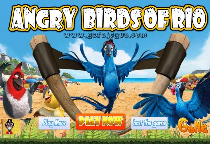 2011 yılında yayınlanan Rio isimli animasyon filmi ve meşhur Angry Birds oyunu, Angry Birds Rio isimli flash oyunda birleşti!  http://www.garajoyun.com/angry-birds-rio.html