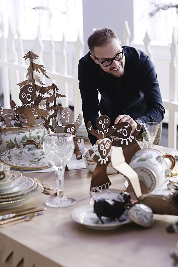 The royal contrasts of Shane Brox - Royal Copenhagen