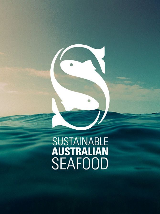 "This is a great logo for a seafood company. Without the text underneath the viewer would still be able to guess what the company does. The fish creating the ""S"" are appealing and its still clear what letter it is."