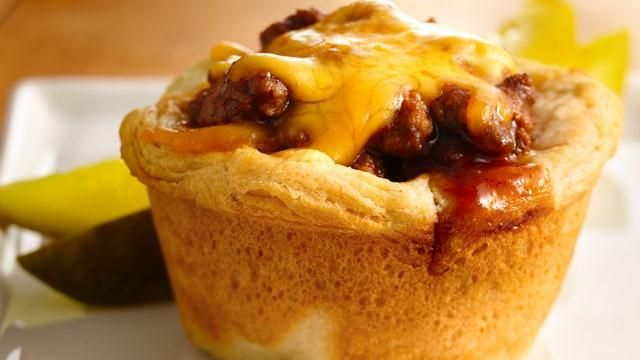 Barbecue Cups - I grew up eating these and now make them all the time. My husbands favorite meal and super easy. They reheat well too so I make a bunch and we eat leftovers for lunches that week.