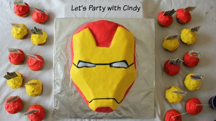 Awesome Superhero themed party ideas from Let's Party with Cindy