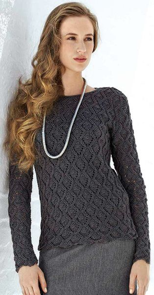 Ajourmusterpulli Classico Knitting Crochet Pullover