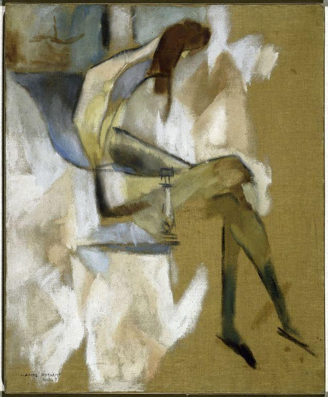 Marcel Duchamp Paints the Body Electric