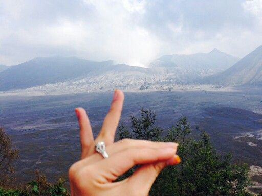 Humpz at Bromo,Indonesia          ● cr Photo by my friend ●