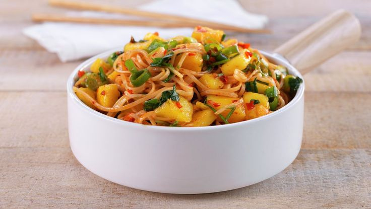 Spicy nudelsalat