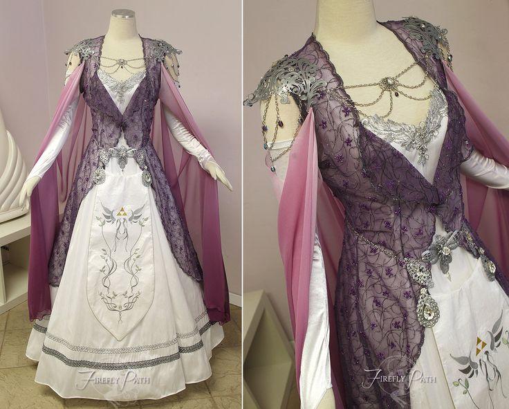 Princess Zelda Bridal Gown by Lillyxandra.deviantart.com on @DeviantArt