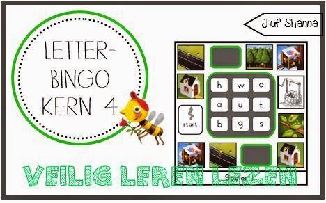 Letterbingo VLL - kern 4