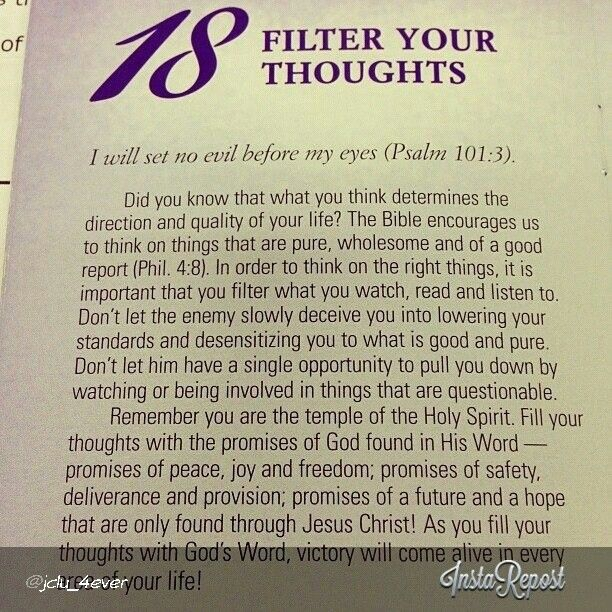 filter your thoughts god 39 s word inspirational quotes