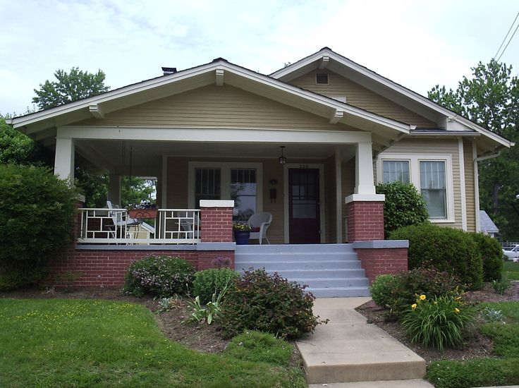 Love a bungalow too wrap around porches are the best for Wrap around porch cost