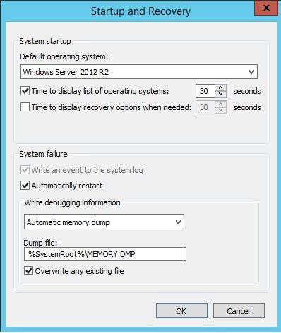 Windows 2012 Hosting - MVC 4 and SQL 2012 BLOG   Windows 2012 Hosting with Free ASP.NET :: Simple Tips to Help Diagnose and Prevent Windows Server Crashes