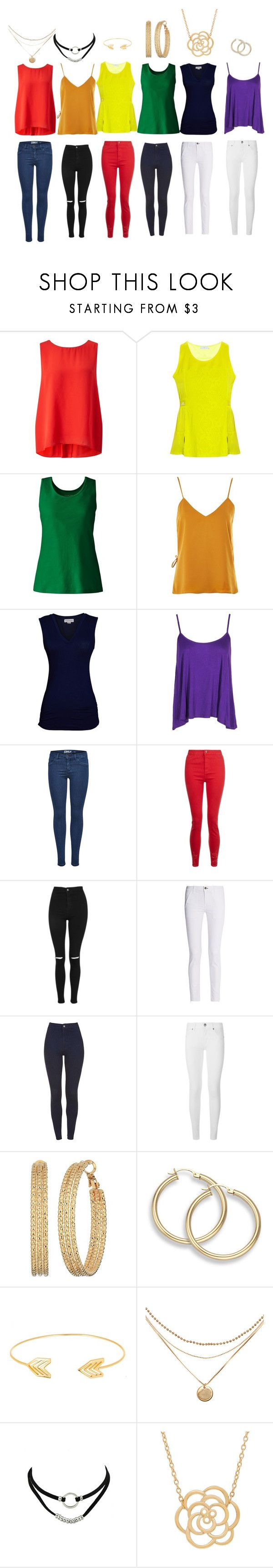 """""""Rainbow"""" by gamerskitchenofficial on Polyvore featuring Somerset by Alice Temperley, adidas, Lands' End, WYLDR, Velvet by Graham & Spencer, Boohoo, Topshop, rag & bone, Burberry and GUESS"""