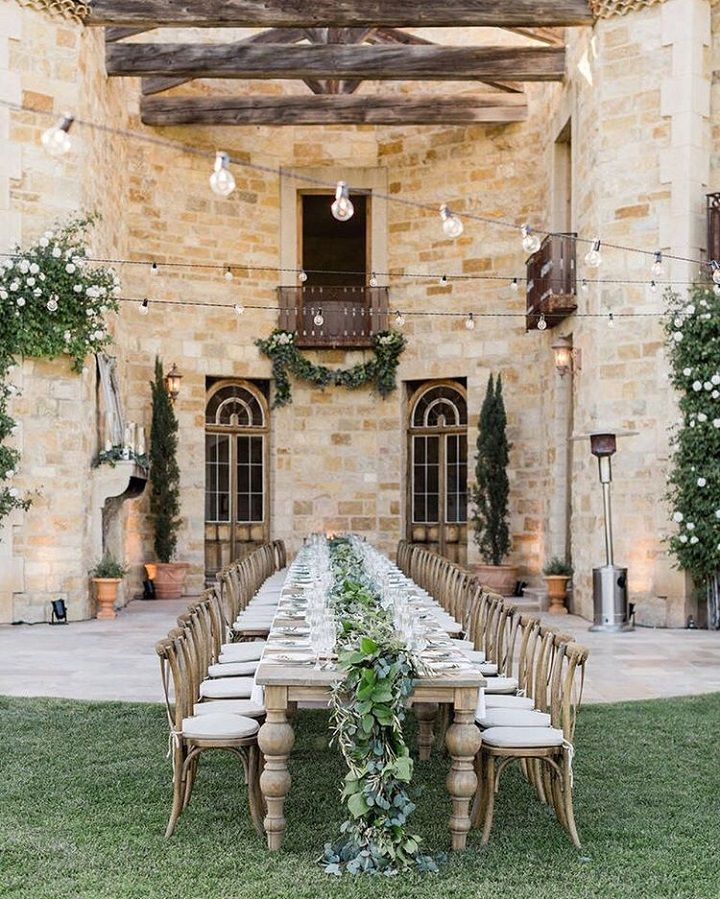 Tuscan Wedding Theme Blush Cream Peach Puff And Pale Dogwood Small Outdoor WeddingsSmall ReceptionsSummer VenuesIntimate