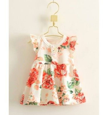 JQL Dress - Flower - sadinashop.com  Dress atau gaun bayi dan anak.