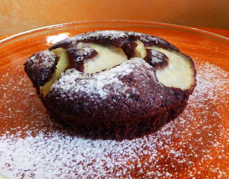 Frittomisto: cucina ed emozioni: Tortine pere e cioccolato