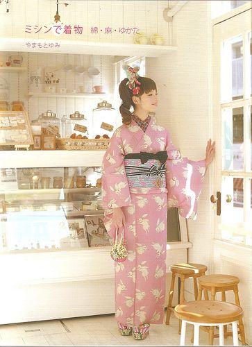 Making Casual Kimono and Yukata