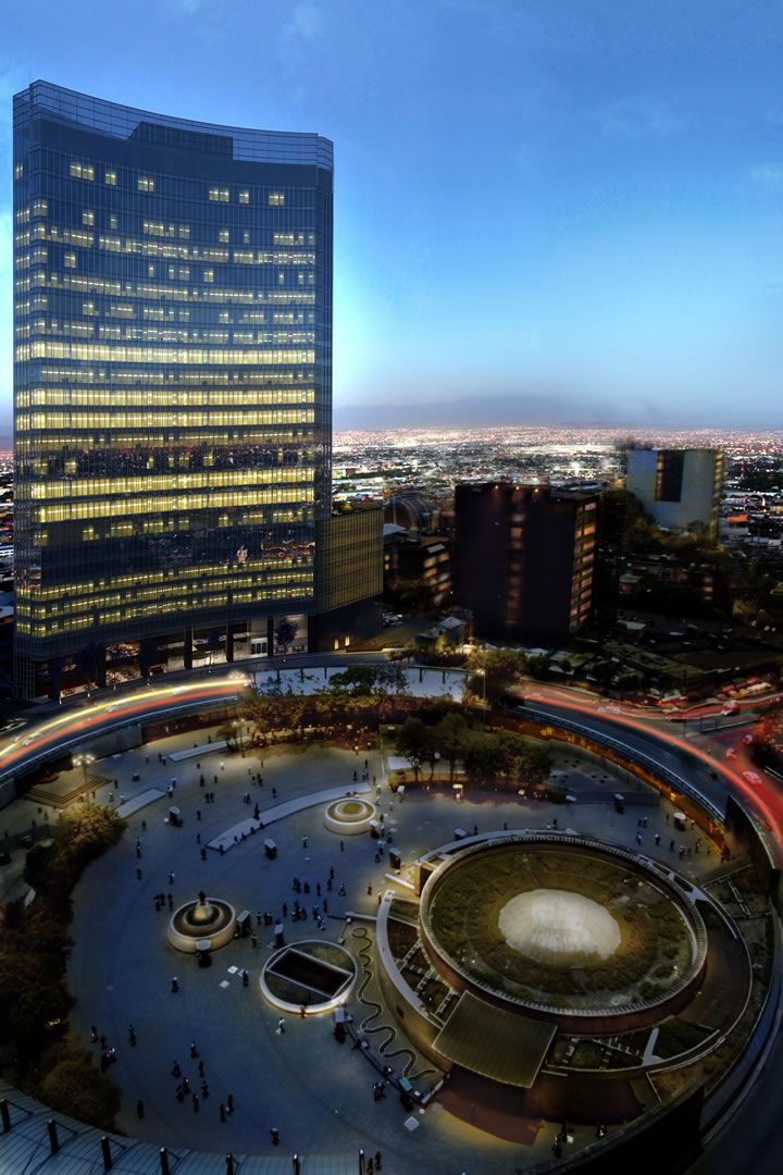 Corporativo Glorieta de los Insurgentes   Mexico City - U/C 28 floors