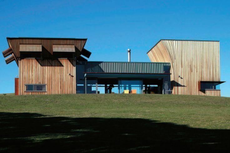 Waiheke Island House, Auckland, Mitchell & Stout Architects