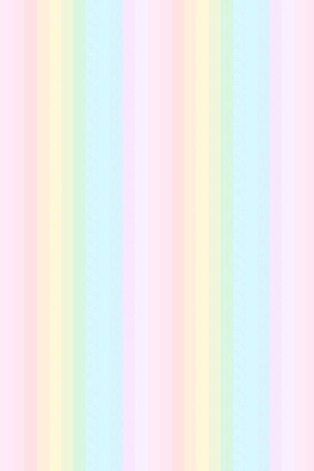 Cute Unicorn Wallpaper Iphone Pastel Rainbow Stripes ♡ Achtergrond Papier