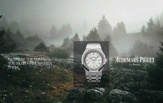 La Cote des Montres : Audemars Piguet présente sa nouvelle campagne publicitaire 2015 - « Pour briser les règles, il faut d'abord les maîtriser »