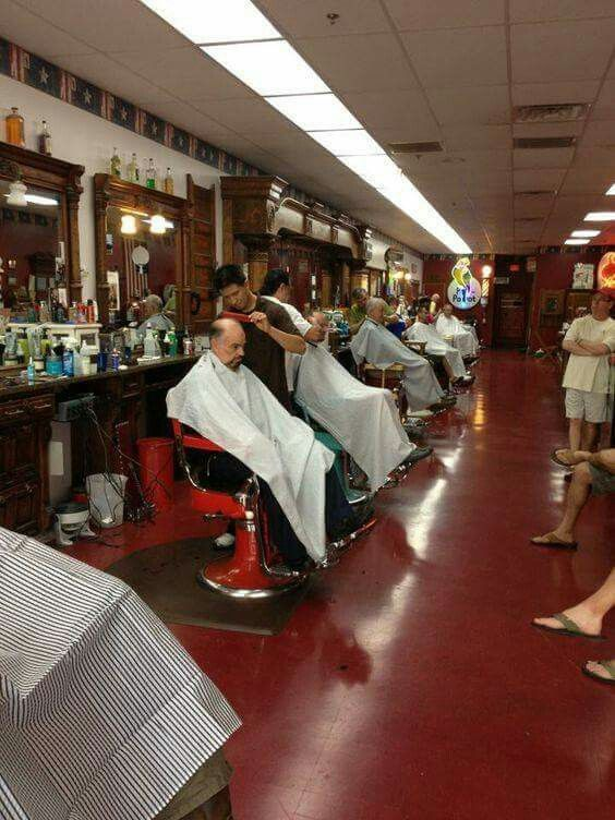 ... IN The Chair on Pinterest Barber chair, Vintage and Howard mcnear