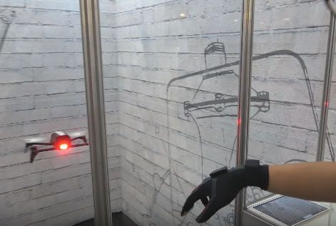 Smart Glove To Control Parrot Drones
