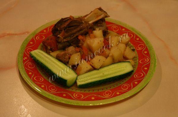 Рагу из баранины с овощами, пошаговый рецепт приготовления с фотографиями от IamCOOK. Как приготовить баранину с овощами? - вкусный и полезный рецепт с фото.