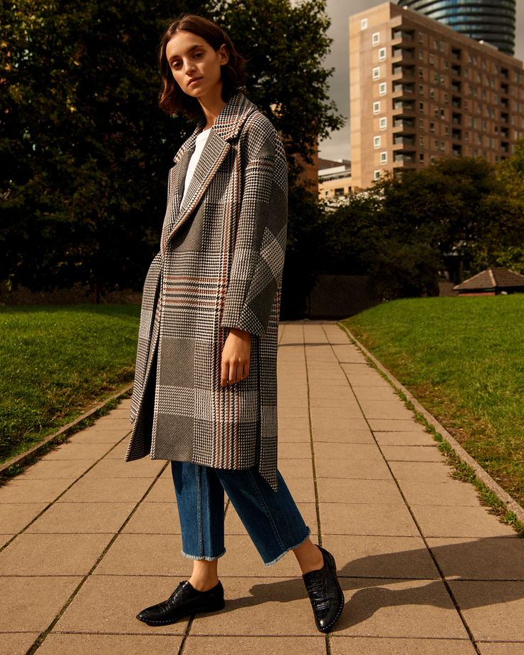Romancing the coat. There's a Whistles coat for everyone this autumn-winter.