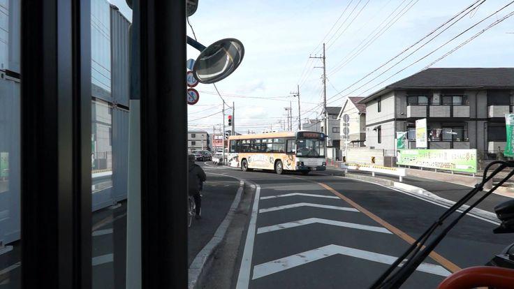 京成バス 船81 前面展望 船橋駅北口→行田団地→船橋法典駅 エルガミオ